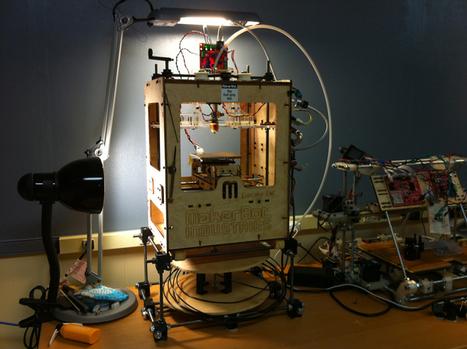 Tout savoir pour imprimer en 3D en toute légalité | L'Etablisienne, un atelier pour créer, fabriquer, rénover, personnaliser... | Scoop.it