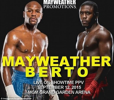 Mayweather vs Berto live streaming   Invisible Browsing VPN   Scoop.it