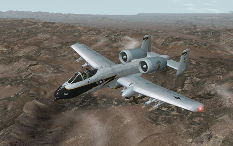 A-10 Warthog for X-Plane 9.70 released   x-plane 9 a-10   Scoop.it