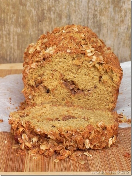 Cake Duchess: Walnut Streusel Bread–#QuickBreadMonday | Food for Foodies | Scoop.it