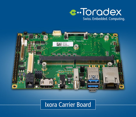 Ixora Carrier Board - ARM Evaluation Boards | Toradex Computer Modules | Scoop.it