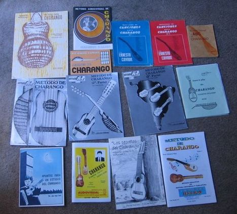 Charango: String gauges, Tuning, Method Books | Charango | Scoop.it