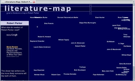 Literature-Map - The tourist map of literature | Technology in Education | Scoop.it
