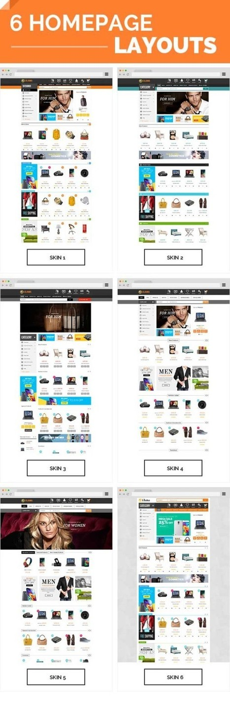 Lilama Mega Shop Responsive Magento Theme - ServerThemes.Net | Best Premium Magento Themes | Scoop.it