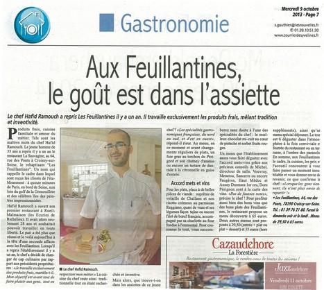 Un chef à l'honneur | Croissy sur Seine | Scoop.it