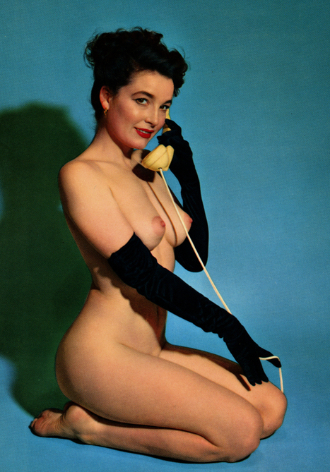 Vintage Phone Sex Girl | Busty Boobs Babes | Scoop.it