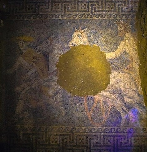 Stunning Mosaic Floor Revealed in Amphipolis Tomb | GreekReporter.com | Artifacts | Scoop.it