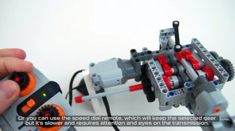 Uma caixa de 6 velocidades feita em LEGO | Heron | Scoop.it