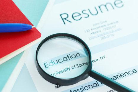 5 Résumé 'Tricks' That Can Backfire - US News | Debs Career Corner #debscc | Scoop.it