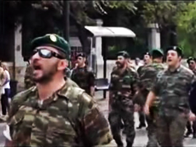 'Out of Greece!': Special forces march in uniform, chant in anti-Merkel protest (VIDEO) | Daily Crew | Scoop.it