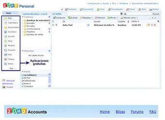 Zoho suite de oficina online y gratuita | TI | Scoop.it