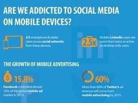 Social Media Addiction and Other Mobile Marketing Trends [Infographic] - CMSWire | DUDL.News | Scoop.it