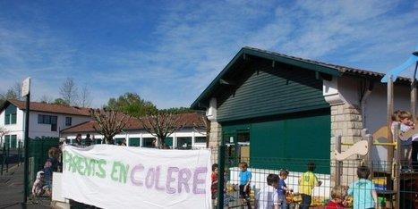 Ascain (64) : les parents d'élèves ont bloqué l'accès à la maternelle ... | Vacances à Ascain | Scoop.it