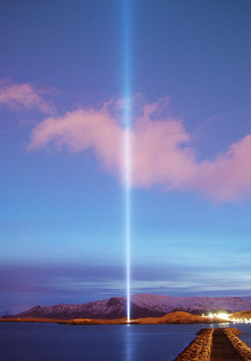 IMAGINE PEACE TOWER to be lit on Feb 18th by the City of Reykjavík to celebrate Yoko Ono's birthday | The Blog's Revue by OlivierSC | Scoop.it