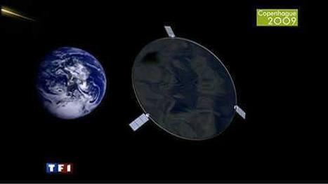 Parasols Géants dans l'Espace | 10 idées folles pour réduire les gaz à effet de serre | Scoop.it