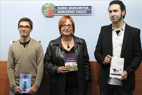 Jon Bilbao y Ur Apalategi, Premios Euskadi de Literatura 2011 noticias Cultura actualidad | Ur Apalategi | Scoop.it