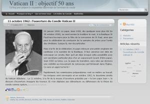 Vatican II – en route vers les 50 ans   Sujets Religieux   Scoop.it