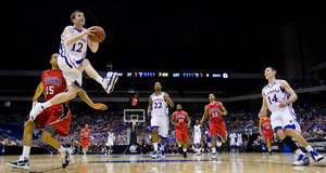 KU's Morningstar trying to match father's Final Four appearance - Kansas City Star   We're playin' baaaasketbal   Scoop.it