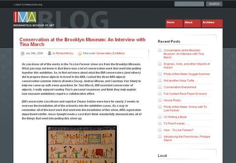Is Your Museum's Blog Social?   Edgital   MCN2012   Scoop.it