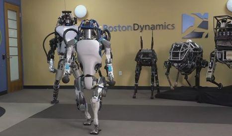Google largue ses robots marcheurs | Economies du Futur ! | Scoop.it