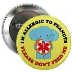 Kids Allergy Alert Buttons Because You Can Always Be There : Shopped Again | Parenting a Food Allergic Child | Scoop.it