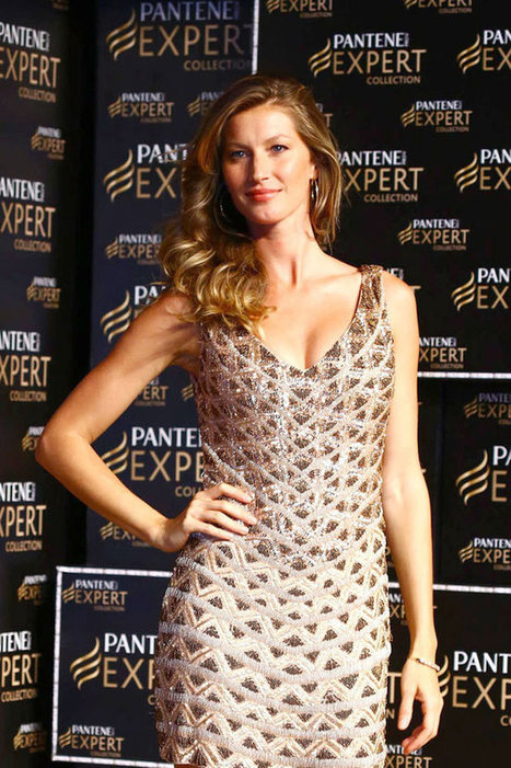 Gisele Bundchen Shows Off Her Tresses at Pantene P&G Event in Sao Paulo | TAFT: Trends And Fashion Timeline | Scoop.it