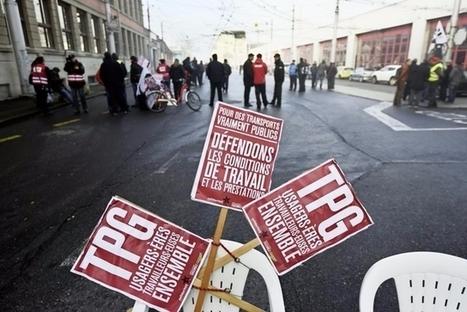 Aux TPG, la révolte monte sur fond d'absentéisme | SNOTPG - Site Non Officiel des tpg | Scoop.it