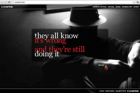Canadian Anti-Piracy Outfit Pirates Photos for its Website   TorrentFreak   Legal and Fair   Scoop.it