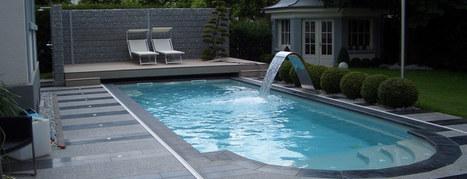 Fontaine, cascade et lames d'eau piscine - Piscine du Nord   Equipements et accessoires piscine   Scoop.it