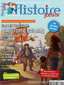Sur les traces de Christophe Colomb en Amérique, Histoire Junior n° 27, mars 2014 | Revue de presse du CDI du Collège Langevin d'Hennebont | Scoop.it
