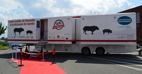 Un camion pour former les professionnels de la viande - Plan Marshall | IDELUX-AIVE | Scoop.it