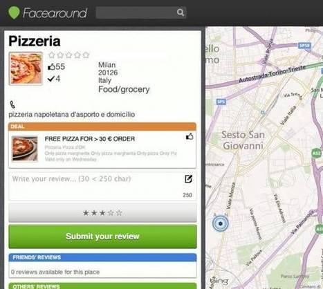 Un esempio di integrazione tra Facebook e geolocalizzazione | Social media culture | Scoop.it