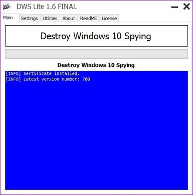 Supprimer les espions windows - Destroy Windows Spying | Shabba's news | Scoop.it