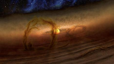 Mystery of planet-forming disks explained by magnetism | Daily Magazine | Scoop.it