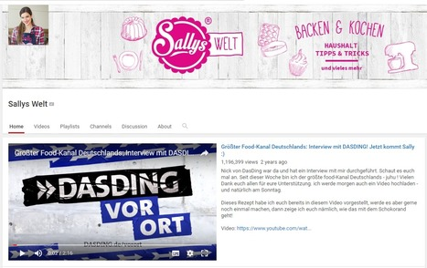 Sallys Welt | Grösster Foodkanal Deutschlands | #EatingCulture #EasyCooking #EasyBaking | Hobby, LifeStyle and much more... (multilingual: EN, FR, DE) | Scoop.it