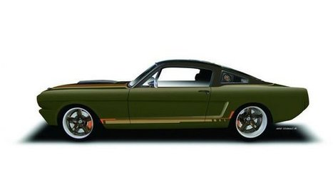 SEMA 2015 : RingBrothers et une Ford Mustang fastback | le blog auto | 694028 | Scoop.it