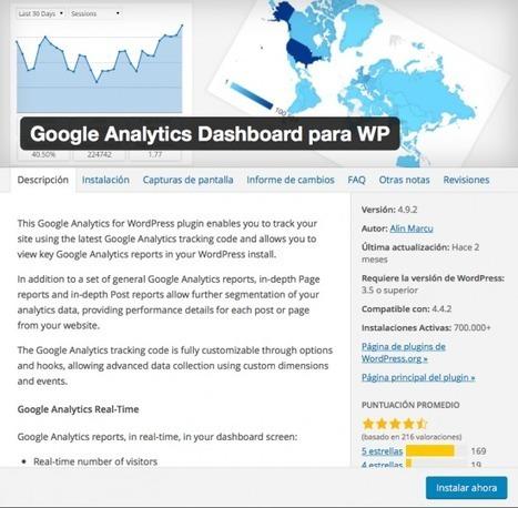 El mejor plugin de estadísticas | Ayuda WordPress | Diseño Web Social - Josu Salvador y Olazabal | Scoop.it