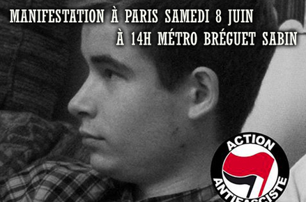 Paris : un antifasciste tué par l'extrême droite   Regards écologistes sur l'extrême-droite   Scoop.it
