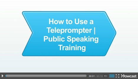How to Use a Teleprompter | Digital Presentations in Education | Scoop.it