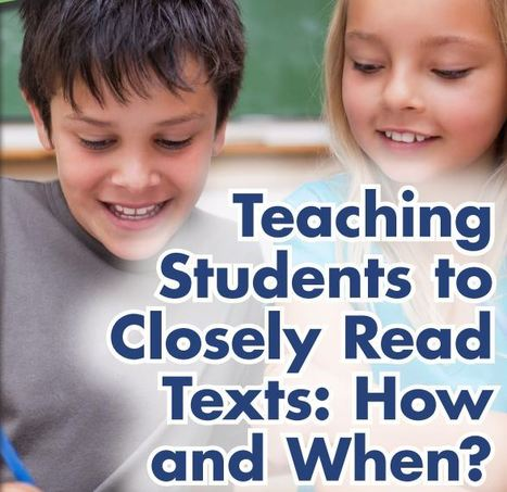 Close Reading (INFOhio on Pinterest) | Close Reading | Scoop.it
