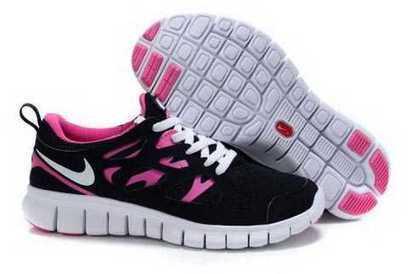 UK Running Shoes Nike Free Run 2 Womens Black Pink | nike free pink | Scoop.it
