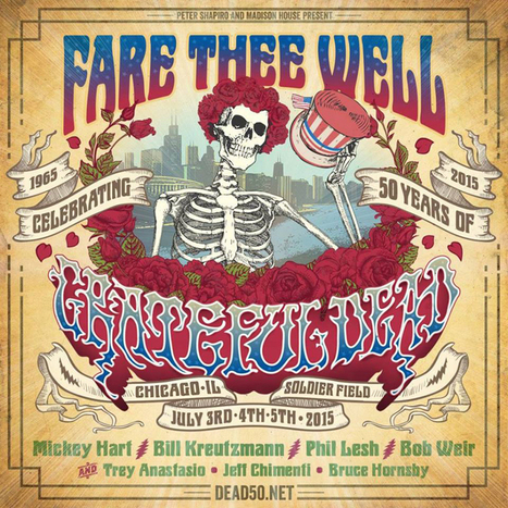 Grateful Dead celebran su 50 aniversario con un concierto, disco y documental - Dirty Rock Magazine | Actualitat Musica | Scoop.it