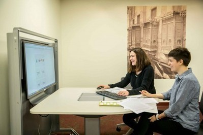 Digital Media and Collaboration Lab Debuts - Bryn Mawr Now | Library Collaboration | Scoop.it