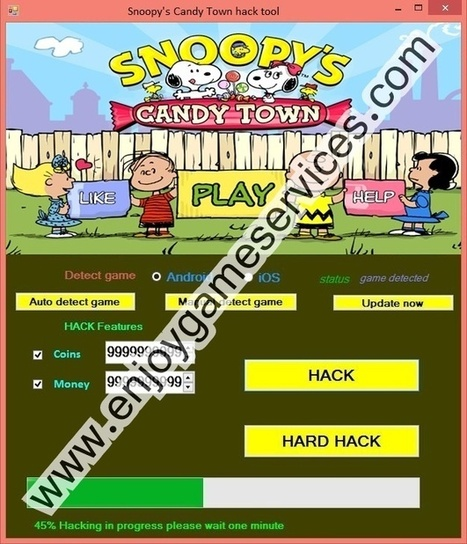 Snoopy's Candy Town hack tool | game enjoy | Scoop.it