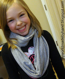 My World - Made By Hand: No Sew Infitiy Scarf {tutorial} | Market Day Ideas | Scoop.it