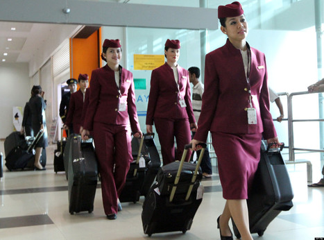 7 Great Reasons To Be A Flight Attendant | flight attendent | Scoop.it