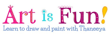Learn How to Draw and How to Paint the Fun Way | art and art education | Scoop.it