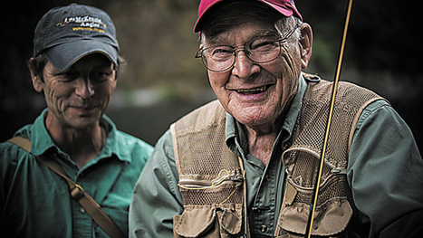 Documentary captures veteran's passion for fly-fishing - Examiner Enterprise | Fish Habitat | Scoop.it