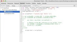 How to dynamically inject debuggable javascript into Chrome Dev ... | Chrome DevTools | Scoop.it