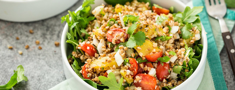 Roasted Buckwheat Salad Recipe | My Vegan recipes | Scoop.it